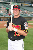 2007:  Matt Macri of the Rochester Red Wings, Class-AAA affiliate of the Minnesota Twins, during the International League baseball season.  Photo By Mike Janes/Four Seam Images