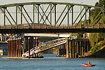 Eastbank Esplanade and Hawthorne Bridge, Portland, Oregon