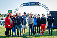 Fabulous ESNZ Support Crew during the First day of Dressage. 2018 GBR-Land Rover Burghley Horse Trials CCI4*. Thursday 30 August. Copyright Photo: Libby Law Photography