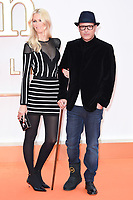 """director, Matthew Vaughn and wife, Claudia Schiffer<br /> arriving for the """"Kingsman: The Golden Circle"""" World premiere at the Odeon and Cineworld Leicester Square, London<br /> <br /> <br /> ©Ash Knotek  D3309  18/09/2017"""