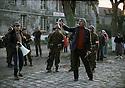 France 1982.Yilmaz Guney shooting his film The Wall.    France 1982.Yilmaz Guney sur le tournage de son nouveau film, le Mur