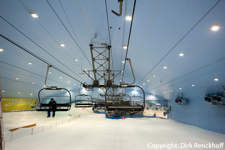Ski-Dubai im Einkaufszentrum The Mall of the Emirates, Dubai, Vereinigte arabische Emirate (VAE, UAE)