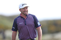 Saturday 30th May 2015; Graeme McDowell, Northern Ireland, walks off the 4th green<br /> <br /> Dubai Duty Free Irish Open Golf Championship 2015, Round 3 County Down Golf Club, Co. Down. Picture credit: John Dickson / SPORTSFILE
