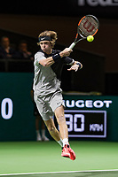 Rotterdam, The Netherlands, 16 Februari, 2018, ABNAMRO World Tennis Tournament, Ahoy, Tennis, Andrey Rublev (RUS)<br /> <br /> Photo: www.tennisimages.com