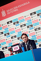 The coach of the national soccer team of Spain, Julen Lopetegui, presents the list of players for the Russian World Cup 2018. May 21,2018. (ALTERPHOTOS/Acero) /NortePhoto.com
