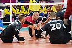 Mikael Bartholdy, Jesse Buckingham, Austin Hinchey, Jamoi Anderson, Lima 2019 - Sitting Volleyball // Volleyball assis.<br />