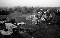 11.2010 Pushkar (Rajasthan)<br /> <br /> Camel camp during the fair.<br /> <br /> Camp de chameaux pendant la foire.