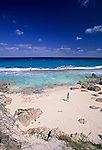 Beach on Stocking Island in the Exumas, Bahamas, Out Islands