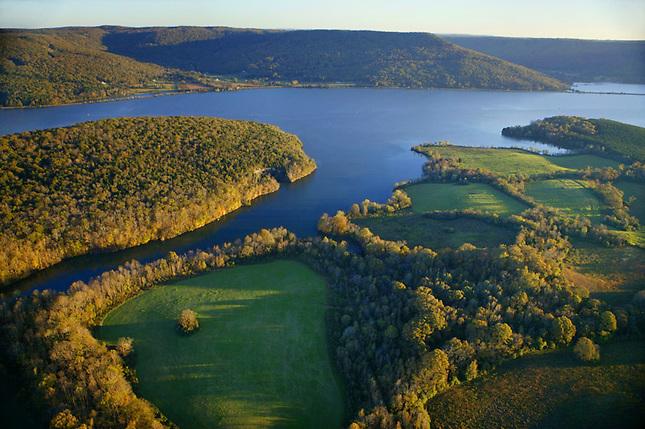 Nickajack Lake on Tennessee River
