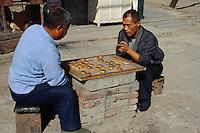 China, Peking, Schachspieler im Westen