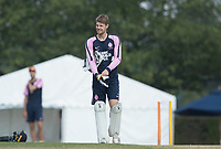 Robbie White of Middlesex CCC  during Middlesex CCC vs Hampshire CCC, Bob Willis Trophy Cricket at Radlett Cricket Club on 11th August 2020