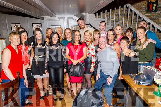Kenitic Fitness enjoying the evening out in the Fiddler Bar on Saturday night.