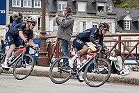 Richard Carapaz (ECU/INEOS Grenadiers) rolling through Châteaulin<br /> <br /> Stage 1 from Brest to Landerneau (198km)<br /> 108th Tour de France 2021 (2.UWT)<br /> <br /> ©kramon