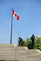 Ottawa (ON) CANADA - June 17 2012 - Canada's capital Ottawa War monument