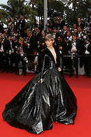 """FRA: """"THE BFG"""" Red Carpet- The 69th Annual Cannes Film Festival - Li Yuchun attend """"THE BFG"""". Red Carpet during The 69th Annual Cannes Film Festival on May 14, 2016 in Cannes, France."""