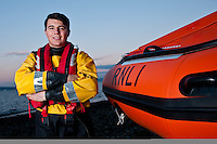 Thursday 21 November 2013<br /> Pictured:Josh Double<br /> Re: 17 year old Josh Double, Britains youngest Lifeboat man who saved two people on his first shift.