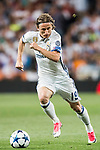 Luka Modric of Real Madrid in action during their 2016-17 UEFA Champions League Quarter-finals second leg match between Real Madrid and FC Bayern Munich at the Estadio Santiago Bernabeu on 18 April 2017 in Madrid, Spain. Photo by Diego Gonzalez Souto / Power Sport Images