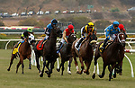 DEL MAR, CA  JULY 24:  The start of the Eddie Read Stakes (Grade ll) on July 24, 2021, at Del Mar Thoroughbred Club in Del Mar, CA.  (Photo by Casey Phillips/Eclipse lSportswire/CSM)