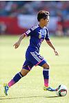 Saori Ariyoshi (JPN),  JULY 1, 2015 - Football / Soccer : FIFA Women's World Cup Canada 2015 Semir-final match between Japan 2-1 England at Commonwealth Stadium in Edmonton, Canada. (Photo by Yusuke Nakanishi/AFLO SPORT)