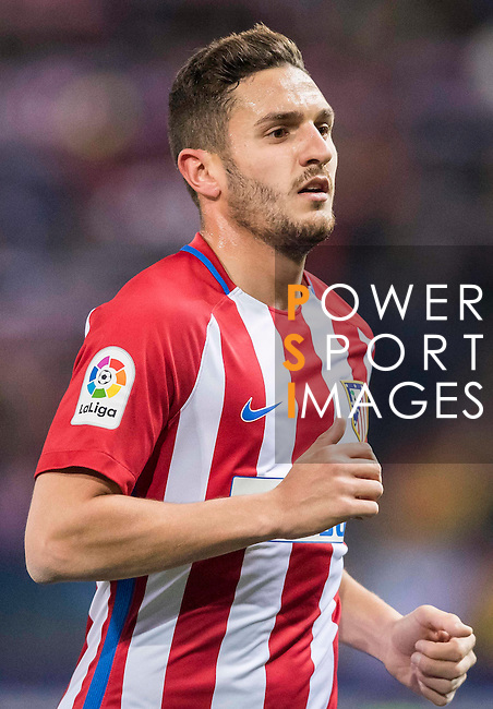 """Jorge Resurreccion Merodio """"Koke"""" of Atletico de Madrid in action during their Copa del Rey 2016-17 Quarter-final match between Atletico de Madrid and SD Eibar at the Vicente Calderón Stadium on 19 January 2017 in Madrid, Spain. Photo by Diego Gonzalez Souto / Power Sport Images"""