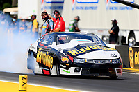 27th September 2020, Gainsville, Florida, USA;  Pro Stock driver Alex Laughlin (40) Havoline during the 51st annual Amalie Motor Oil NHRA Gatornationals