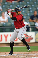 Almonte, Erick 4919.jpg. Nashville Sounds at Round Rock Express. August 27th, 2009 at the Dell Diamond in Round Rock, Texas. Photo by Andrew Woolley.