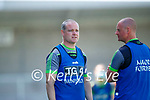 Declan Quill Kerry Ladies Manager in the Lidl Ladies National Football League Division 2A Round 2 at Austin Stack Park, Tralee on Sunday.
