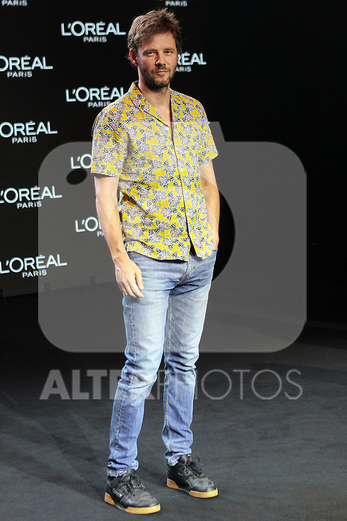 Eloy Azorin at the L'Oreal Paris anniversary fashion show during the Mercedes Benz Fashion Week Spring/Summer 2020 at Ifema on July 10, 2019 in Madrid, Spain.(ALTERPHOTOS/ItahisaHernadez)