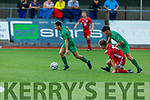Action from Kerry v Cork City in the SSE Airtricity U17 League