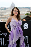 Angelina Jolie <br /> Rome October 7th 2019. Photocall to present the film Maleficent: Mistress of Evil in European premiere<br /> Foto  Samantha Zucchi Insidefoto