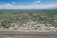 aerial of LaJunta, CO