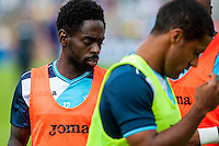 Nathan Dyer of Swansea Cityduring the Pre Season friendly match between Swansea City and Rovers played at the Memorial Stadium, Bristol on July 23rd 2016