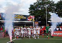 College Park, MD - Friday September 1, 2017: The University of Maryland defeated UCLA 3-2 in a NCAA match at Ludwig Field.
