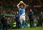 Celtic v St Johnstone…25.01.17     SPFL    Celtic Park<br />Keith Watson returns to league action after a long injury lay off<br />Picture by Graeme Hart.<br />Copyright Perthshire Picture Agency<br />Tel: 01738 623350  Mobile: 07990 594431