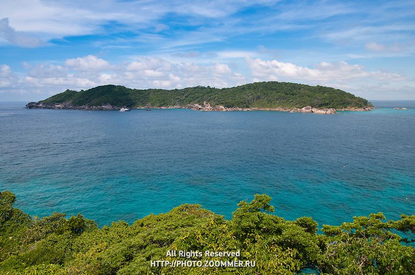 Azure waters near Ko Bangu island of the Similan islands