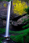 Latourell Falls, a short walk off the old Columbia Gorge Highway near Portland, Oregon is the closest of the Gorge's famous fall to Portland.