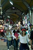 Turkish teenagers at the Grand Bazaar, Istanbul, Turkey