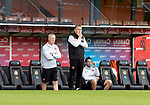 Dundee United v St Johnstone…..01.08.20   Tannadice  SPFL<br />Dundee United manager Micky Mellon and assistant Stevie Frail<br />Picture by Graeme Hart.<br />Copyright Perthshire Picture Agency<br />Tel: 01738 623350  Mobile: 07990 594431