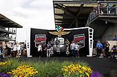 #12: Will Power, Team Penske Chevrolet, Victory Lane<br /> #51: Romain Grosjean, Dale Coyne Racing with RWR Honda<br /> #26: Colton Herta, Andretti Autosport w/ Curb-Agajanian Honda