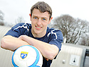 FALKIRK'S MURRAY WALLACE AT THE TEAM'S STIRLING UNIVERSITY TRAING GROUND