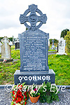 The grave of John O'Connor who was killed by the Black and Tans on the 14th December 1920 in Kilsarcon Graveyard on Saturday.