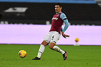 Fabian Balbuena during West Ham United vs Aston Villa, Premier League Football at The London Stadium on 30th November 2020