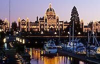 British Columbia Parliament building, Victoria, British Columbia, Canada