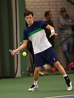 Rotterdam, The Netherlands, March 19, 2016,  TV Victoria, NOJK 14/18 years, Ruben Konings (NED)<br /> Photo: Tennisimages/Henk Koster
