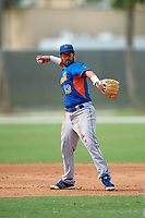 New York Mets Luis Guillorme (13) during a minor league Spring Training game against the St. Louis Cardinals on March 31, 2016 at Roger Dean Sports Complex in Jupiter, Florida.  (Mike Janes/Four Seam Images)