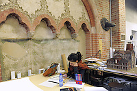 - Milano, Accademia di belle Arti di Brera, laboratorio di scenografia<br /> <br /> - Milan, the Brera Academy of Fine Arts, scenery workshop