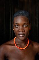 Port-au-Prince, Haiti 2010. Prisca Milfort, Haitian woman.