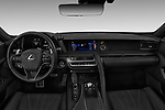 Stock photo of straight dashboard view of a 2020 Lexus RX 350L 4x2 Select Doors Door SUV