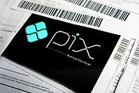 SÃO PAULO, SP, 17.11.2020: Pix - Meio eletrônico de pagamentos e transferências bancárias começa a funcionar hoje no Brasil.