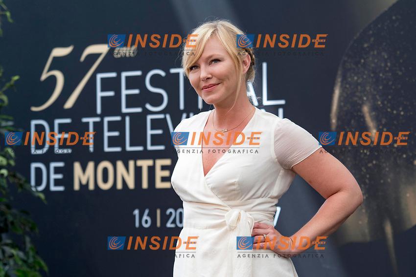 Kelli Giddish (Law and Order) Monaco - 17/06/2017<br /> 57 festival TV Monte Carlo <br /> Foto Norbert Scanella / Panoramic / Insidefoto